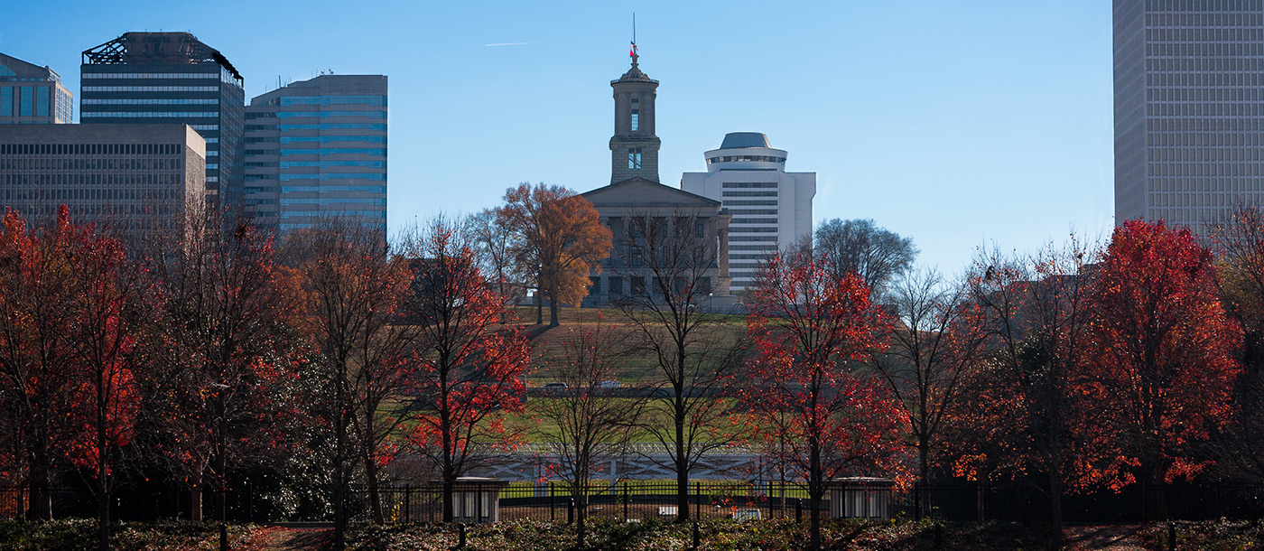 Nashville, Tennessee - view of the state capital