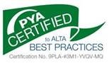 PYA Certified to ALTA Best Practices